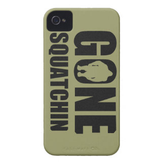 Squatchin ido iPhone 4 Case-Mate fundas
