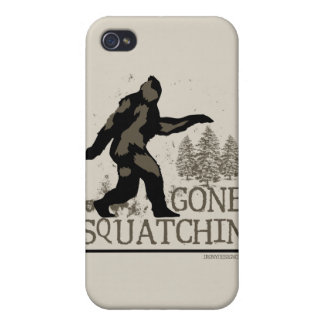 Squatchin ido iPhone 4 protectores