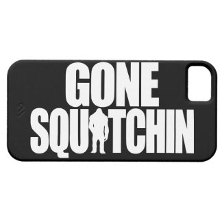 Squatchin ido iPhone 5 carcasas