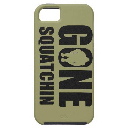 Squatchin ido iPhone 5 coberturas