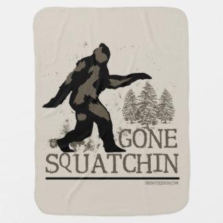 Squatchin ido mantita para bebé