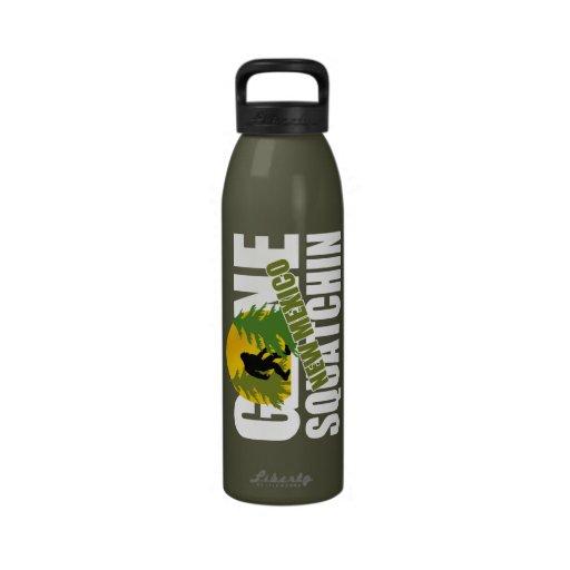 Squatchin ido New México Botellas De Agua Reutilizables