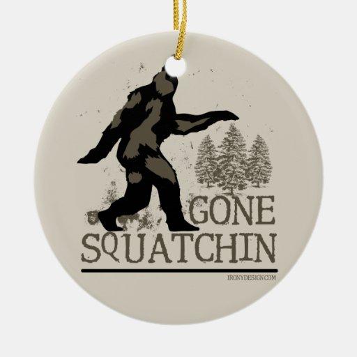 Squatchin ido ornaments para arbol de navidad