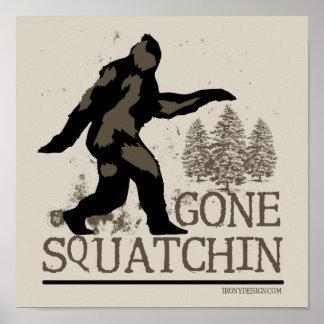 Squatchin ido poster