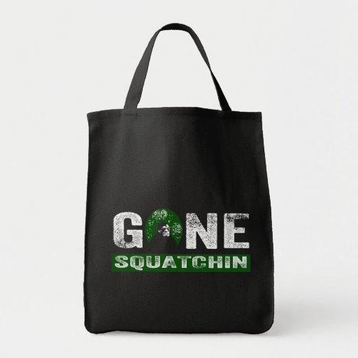 Squatchin ido (para el negro) bolsas