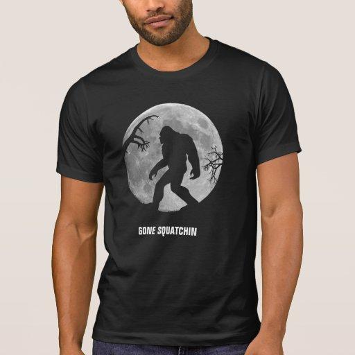 Squatchin ido - personalizado camisetas