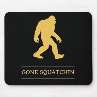 Squatchin ido pie grande divertido Sasquatch Alfombrilla De Raton