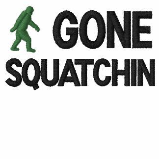 Squatchin ido polo bordado
