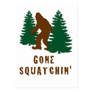 Squatchin ido postales