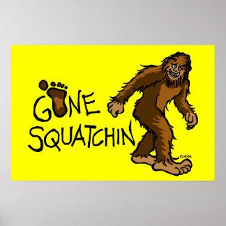 Squatchin ido póster