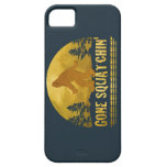 Squatchin ido (puesta del sol del vintage) iPhone 5 cárcasa