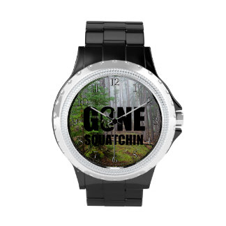 Squatchin ido reloj de mano