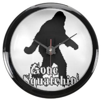 Squatchin ido relojes aqua clock