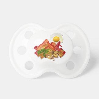 Squatchin ido salsa de tomate chistosa para el chupetes para bebes