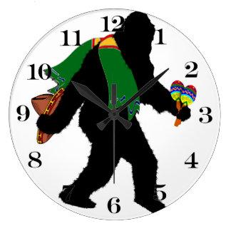 Squatchin ido - Senor Squatcho de Mayo Reloj Redondo Grande