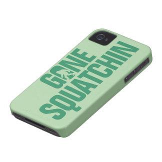 Squatchin ido - verde iPhone 4 cárcasa