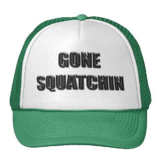 Squatchin ido - versión de cristal gorro de camionero