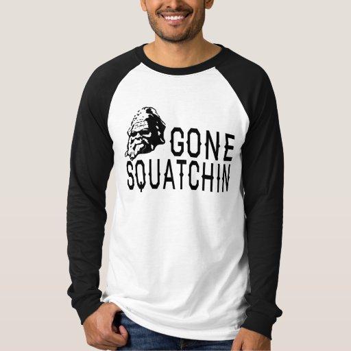 Squatchin ido - versión fresca B&W de Sunglass Playera