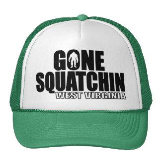 Squatchin ido VIRGINIA OCCIDENTAL - Bobo original Gorros Bordados