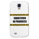 Squatchin in Progress Galaxy S4 Case