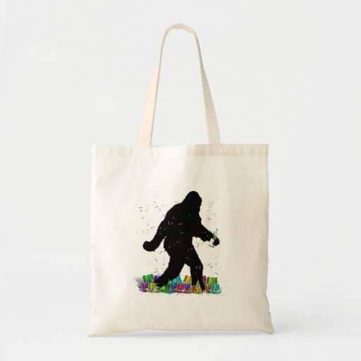 Squatchin' In The New Year Canvas Bag