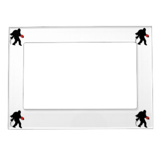 Squatchin Into Your Heart Magnetic Picture Frames
