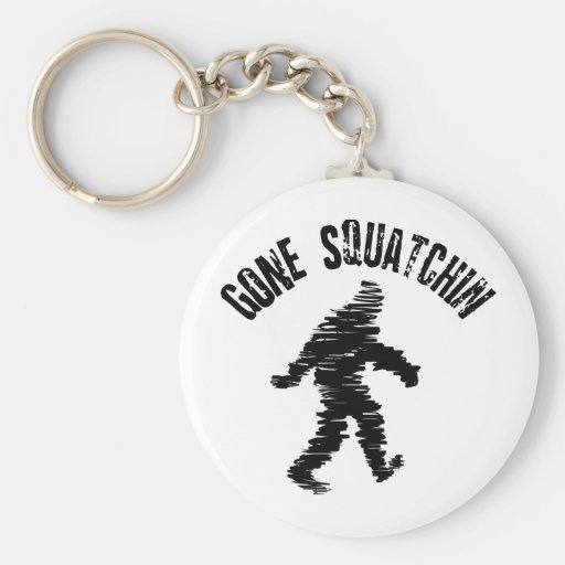Squatchin' Key Chains