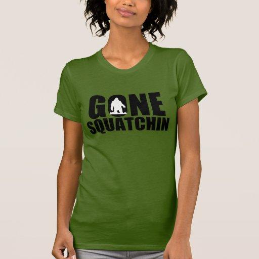 Squatchin-Mujeres idas Camisetas