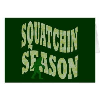Squatchin Season Card