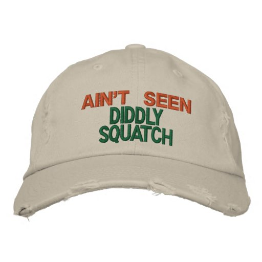 Squatchin Stakeout Embroidered Baseball Hat