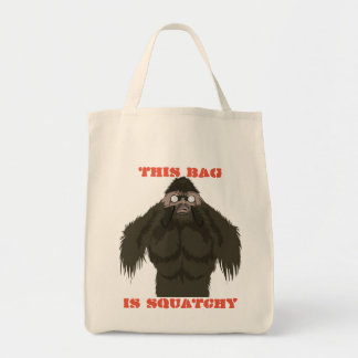 Squatchin' Watchin' Bigfoot Love Tote Bag