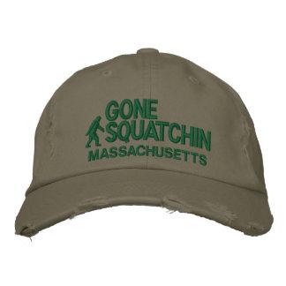 Squatchin y su estado personalizados gorra de beisbol