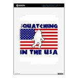 Squatching en los E.E.U.U. iPad 3 Skins