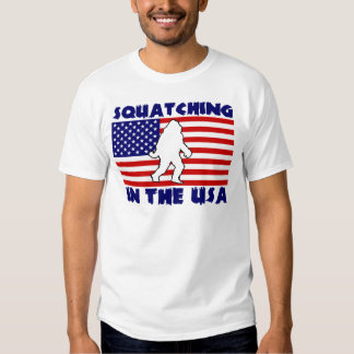 Squatching in the USA T Shirt