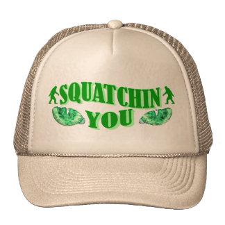 Squatching le gorras de camionero