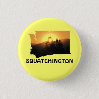 Squatchington Sunset Pinback Button