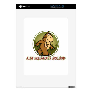 SQUATCHN AROUND DECALS FOR THE iPad