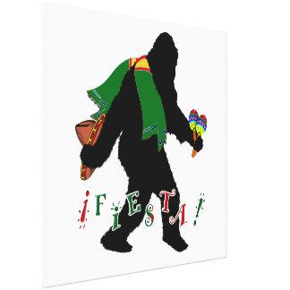 Squatcho De Mayo Fiesta Canvas Prints