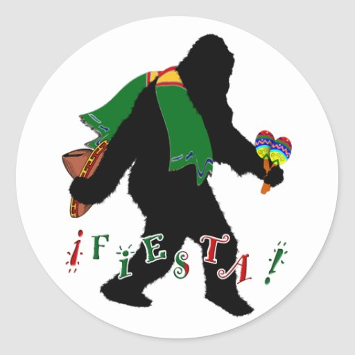 Squatcho De Mayo Fiesta Stickers