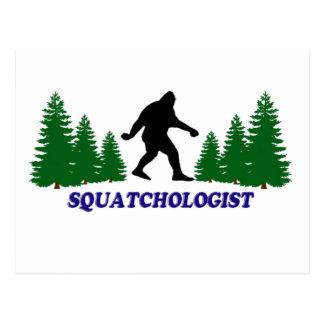 Squatchologist Tarjeta Postal