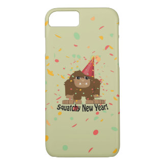 Squatchy New Year iPhone 8/7 Case