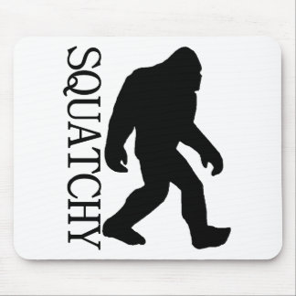 SQUATCHY SILHOUETTE Shirt - Special *BFRO* Edition Mouse Pad