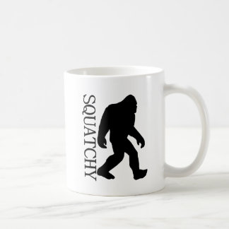 SQUATCHY SILHOUETTE Shirt - Special *BFRO* Edition Coffee Mugs