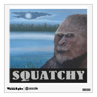 Squatchy Wall Decal