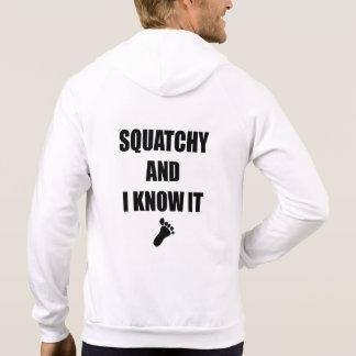 Squatchy y yo lo sabemos sudaderas
