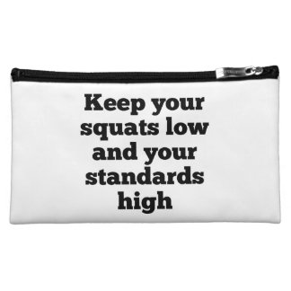 Squats Low Standards High Bagettes Bag