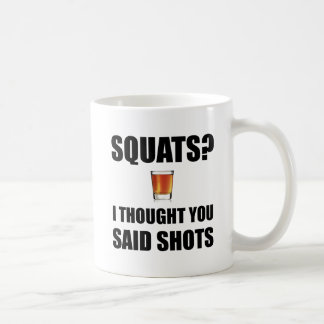 Squats Shots Coffee Mug