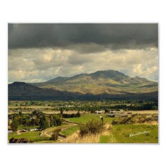 Squaw Butte in Emmett, ID - #0048b Photo Print