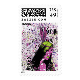 Squaw Stamp