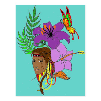 Squaw Postcard